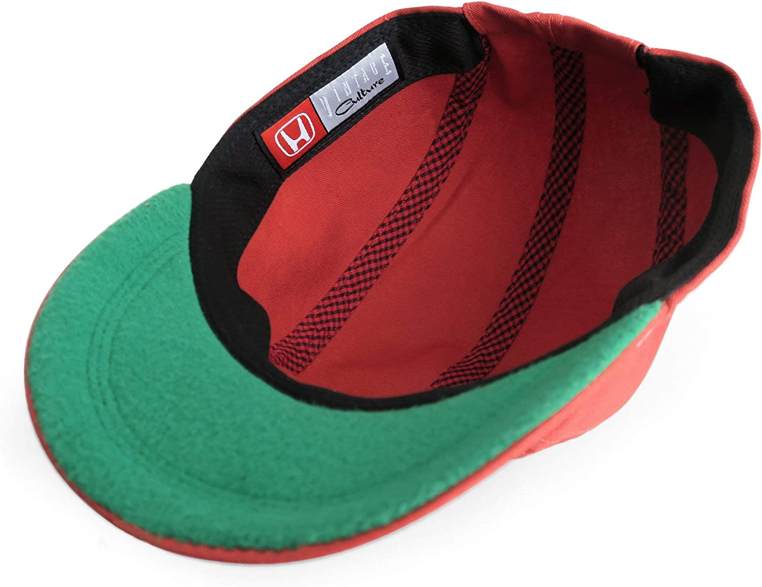 Vintage Culture Officially Licensed Honda Racing Replica 1964 Mechanics Hat OSFA Red Limited