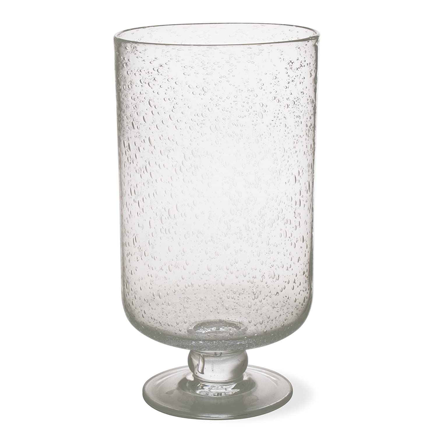 Tag 750305 11.75 by 6.25-Inch Bubble Glass Hurricane, Large, Clear