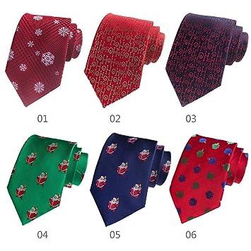 6 corbatas de Navidad para regalar a los hombres, Papá Noel ...