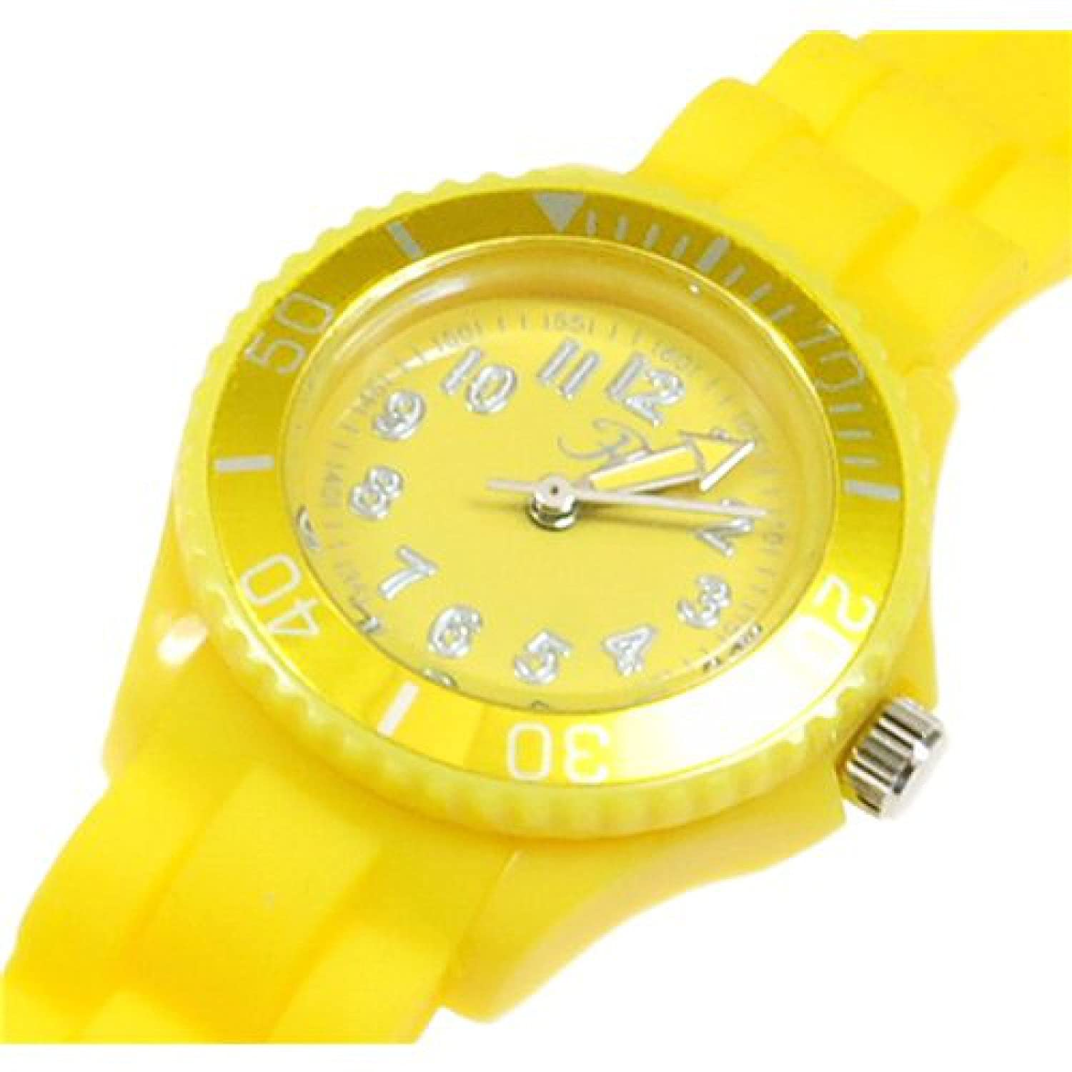 uk reflex childrens s strap girls watch rubber amazon children dp watches yellow silicon size co boys