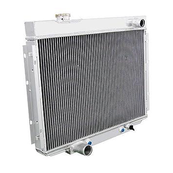 Aluminum 2 Row Performance Radiator for 67-70 Mustang//Fairlane//Ranchero//Cougar