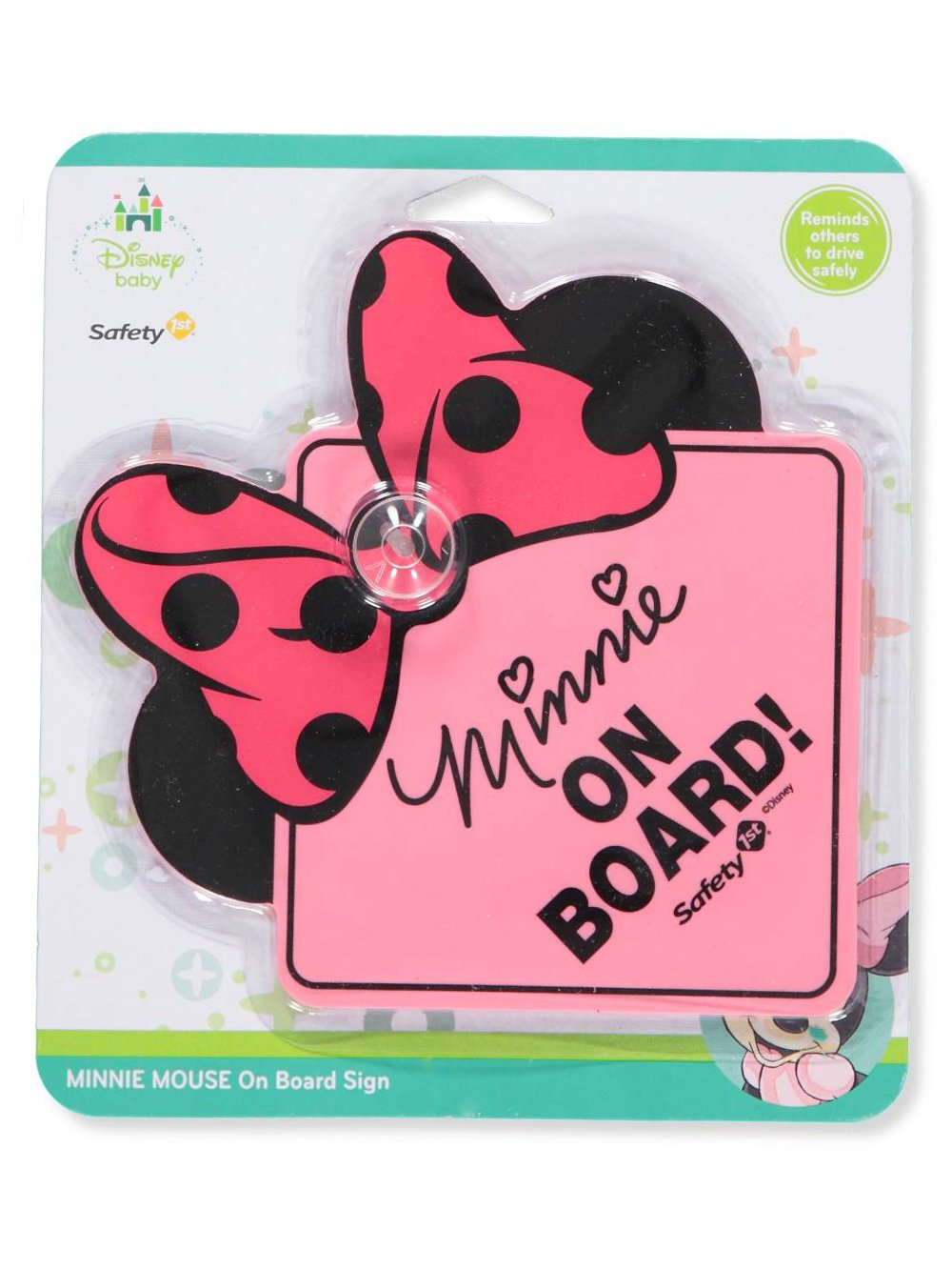 Minnie Disney Baby On Board Sign