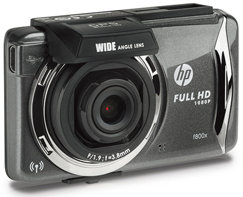 【正規輸入品】 HP(ヒューレットパッカード) 「スマホで操作可能」 ドライブレコーダー 2.7インチタッチパネル式TFTカラー液晶 GPS搭載 広角140° f800x B01FJAR0GM