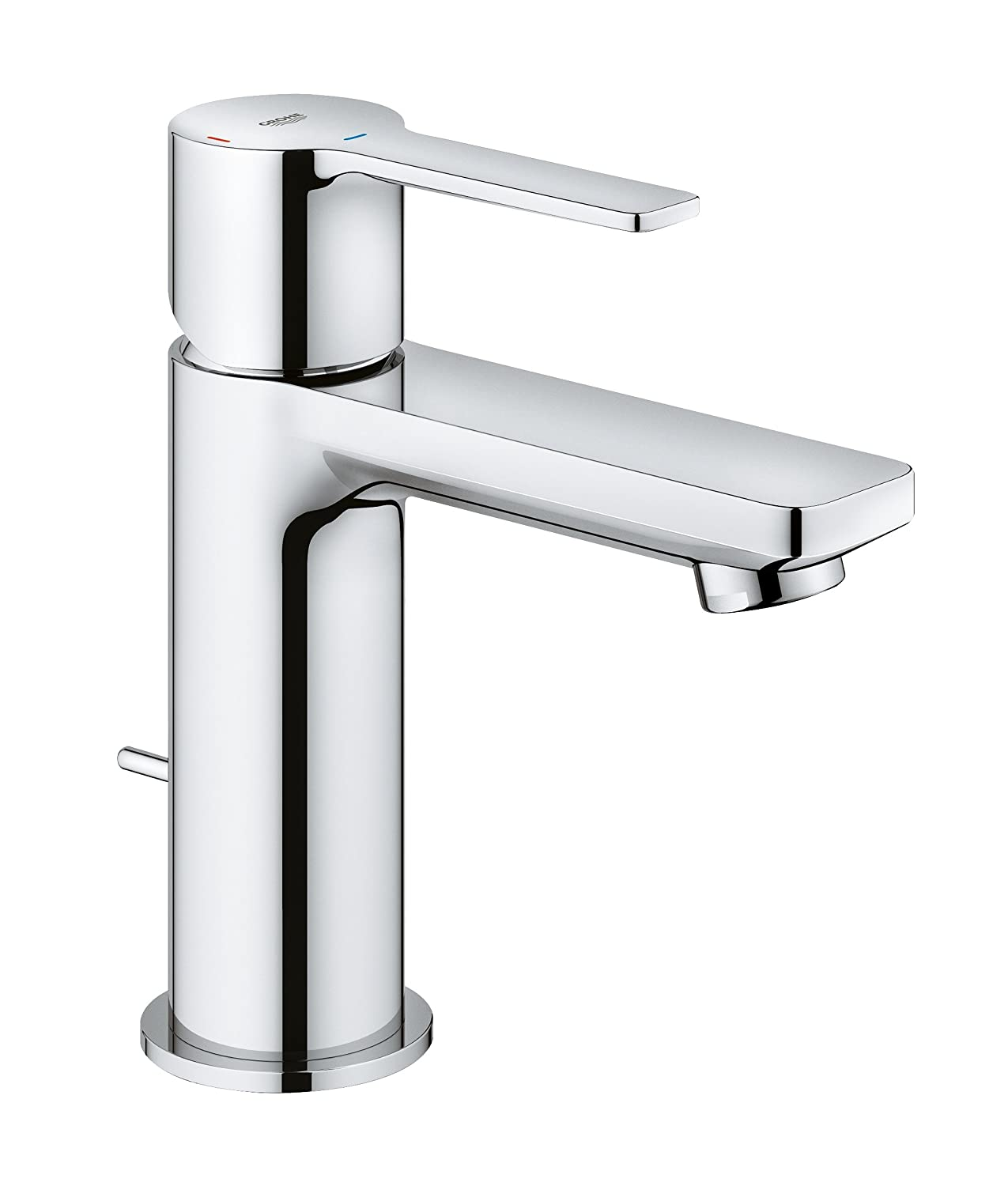 GROHE 23790001 Lineare Mitigeur Lavabo, Chrome, Taille XS