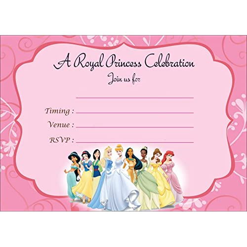 Askprints Metallic Card Invitations With Envelopes Pink 5x7 Inch