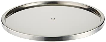 Dial Industries Lazy Susan Stainless Steel Turntable Organizer