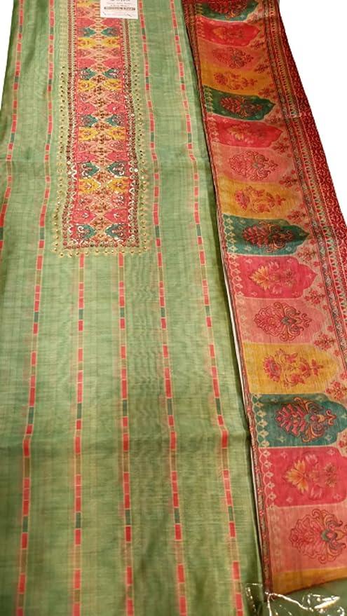Buy Satyam Ladies Bamber Georgette Unstitched Dress