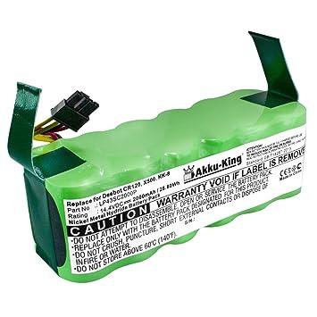 Akku-King 20112228 accesorio y suministro de vacío Robot vacuum Batería - Accesorio para aspiradora