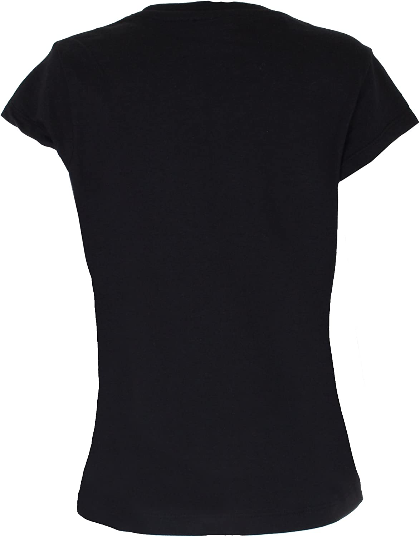 128 cm Character Club kids T-shirt a maniches cortes  Lights Camera Nero 8 anni