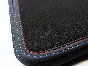 Fußmatten BMW 5er E34 M5 Original Premium Qualität Automatten Velours Nubukleder