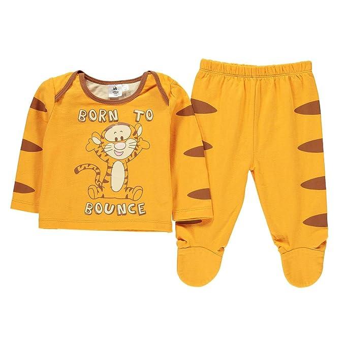 Winnie the Pooh - Pijama Entero - para bebé niño Naranja Naranja