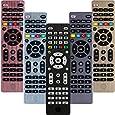 GE Universal Remote Control for Samsung, Vizio, LG, Sony, Sharp, Roku, Apple TV, RCA, Panasonic, Smart TVs, Streaming Players, Blu-ray, DVD, 4-Device, Black, 34457