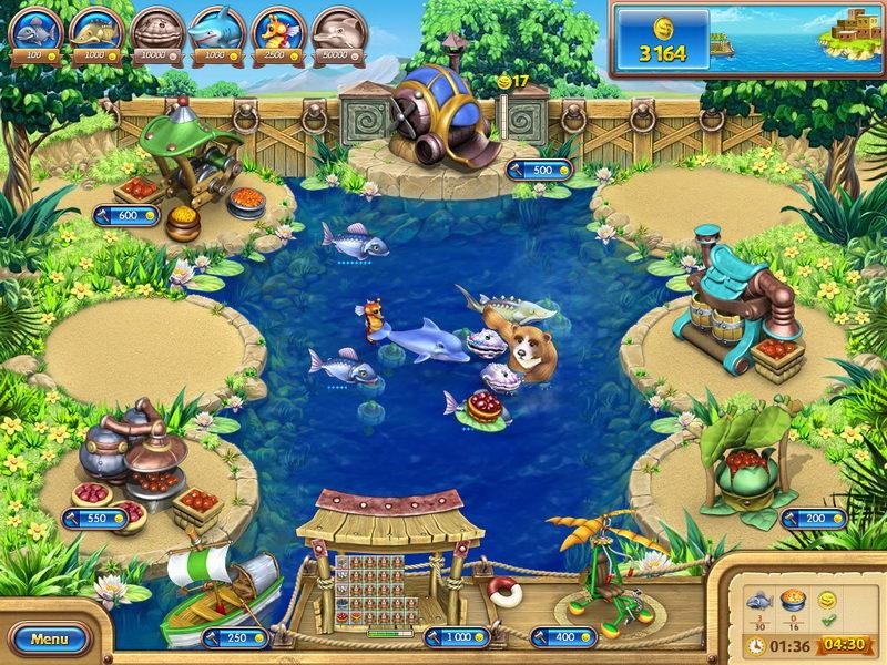 Amazon Com Farm Frenzy Gone Fishing Download Video Games