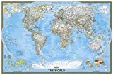National Geographic: World Classic Wall Map (Poster Size: 36 X 24 Inches) (National Geographic Reference Map)
