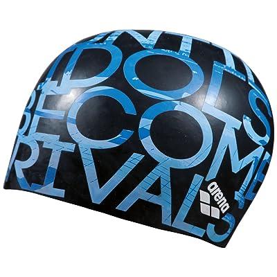 Arena Poolish Moulded Bonnet, Black/Idols, tu