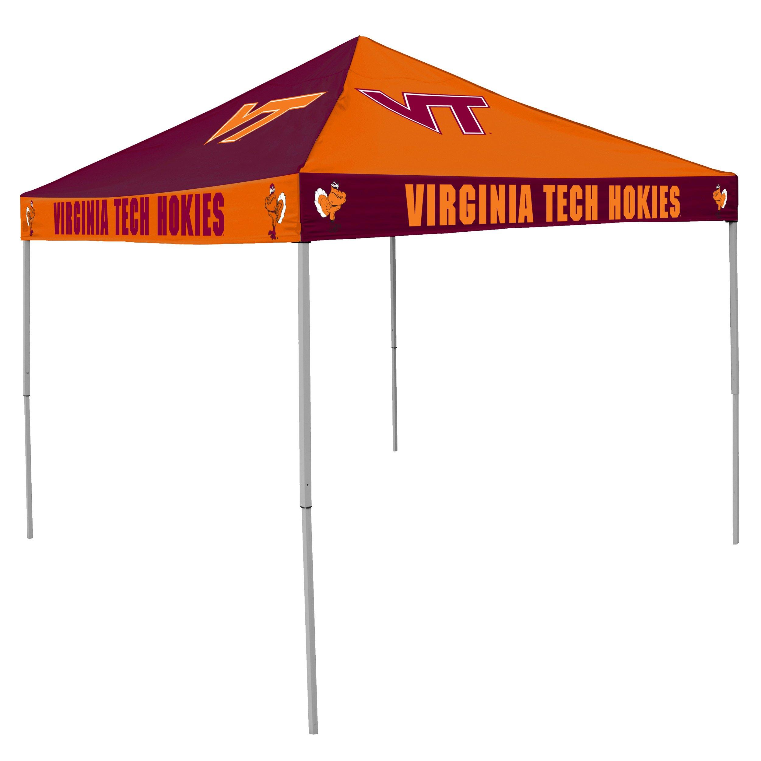 Logo Brands NCAA CB Tent, Virginia Tech, 9 foot X 9 foot