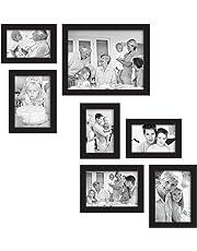 MCS 7 Piezas Juego de Marcos Gallery, Negro(49709)