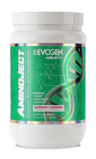 Amazon.com: evogen Naturals aminoject | BCAA, glutamina ...