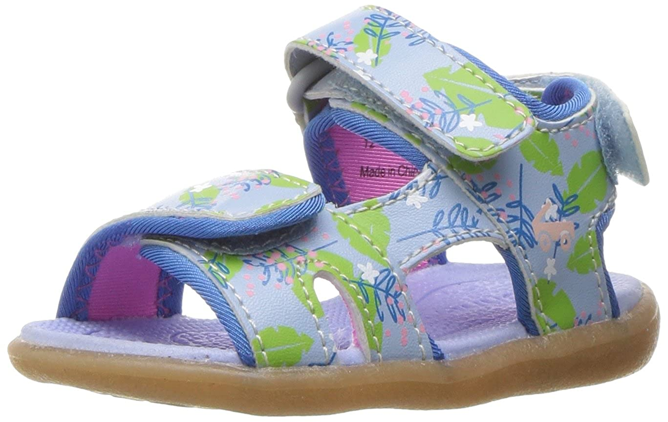 K See Kai Run Kids Makena Blue Floral Water Shoe Makena Blue Floral
