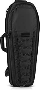 "Savior Equipment T.G.B 30"" 34"" Discreet Tactical Rifle Soft Case Multi-Firearm Carrier Shoulder Sling Pack Padded Bug-Out Bag For Concealed Carry - Low Profile, Hidden MOLLE Panel, Hook-N-Loop Webbing"