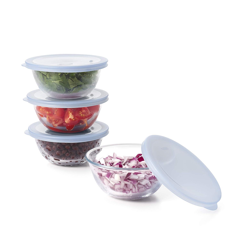 OXO Good Grips 8-Piece Glass Prep Bowl Set