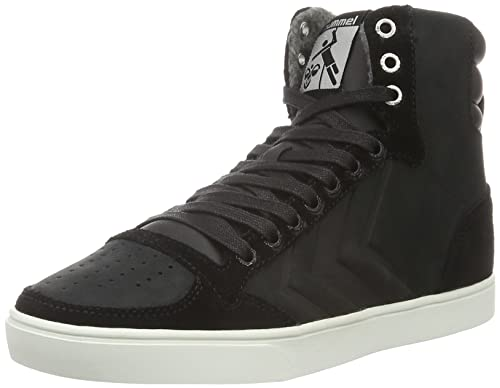 SLIMMER STADIL MONO OILED HIGH - FOOTWEAR - High-tops & sneakers Hummel