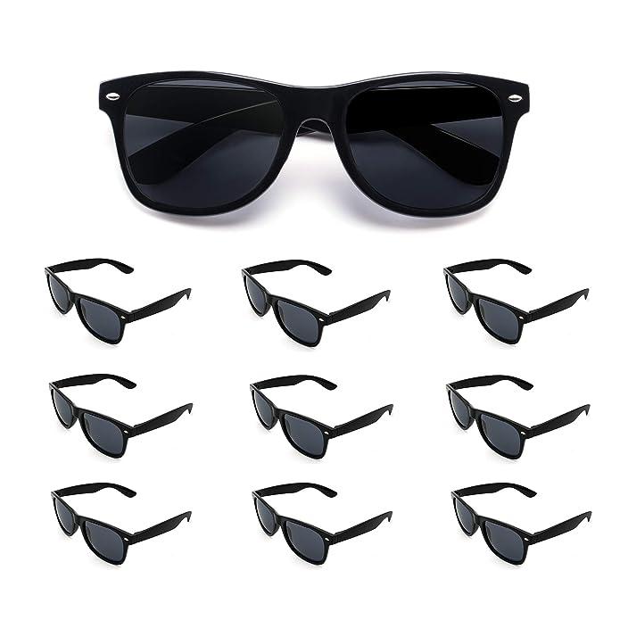 Amazon.com: Paquete de 10 gafas de sol para fiestas al por ...