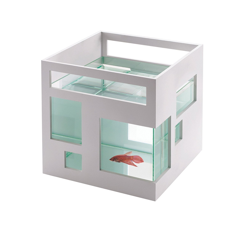 Fishhotel Fishbowl White by Umbra