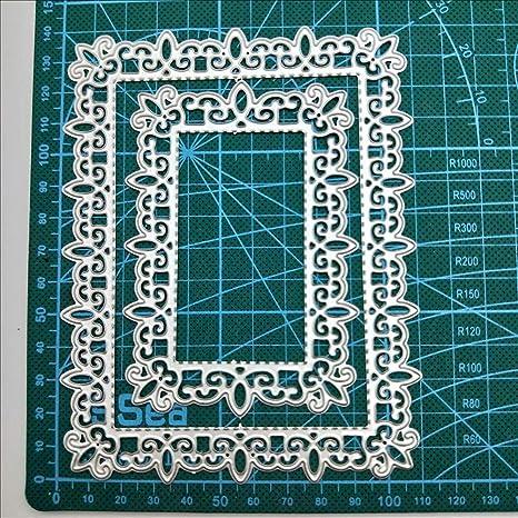 Frame Metal Cutting Dies Stencils Scrapbooking Card Album Embossing Die Craft US