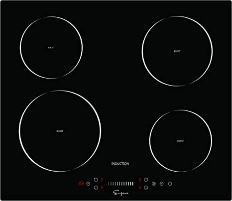 "Empava 30/"" Electric Induction Cooktop With 4 Booster Burners Smooth Surface Black Tempered Glass EMPV-IDC30"