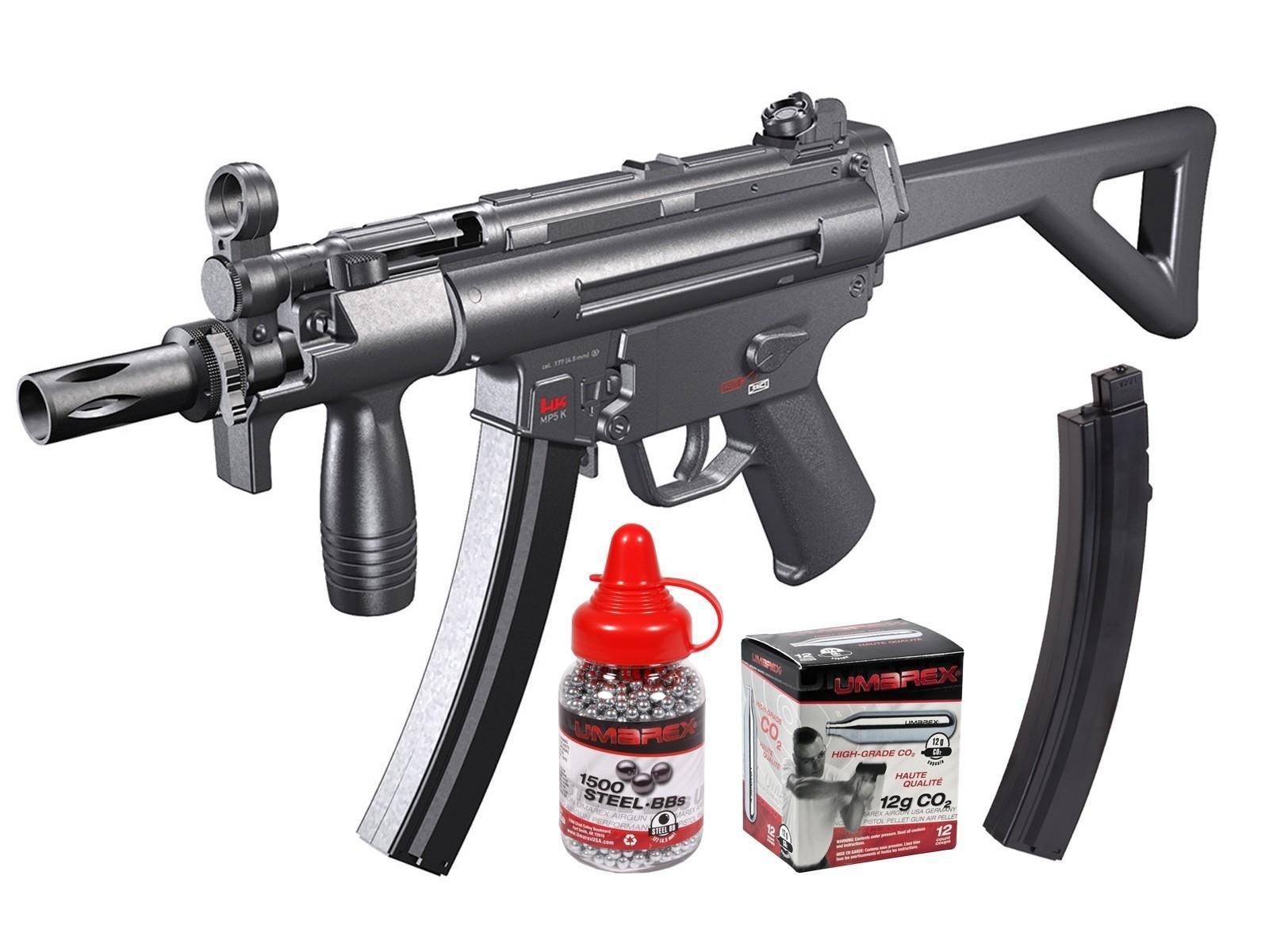 Heckler & Koch MP5 Silver Storm (H&K MP5-PDW) air rifle by Heckler & Koch