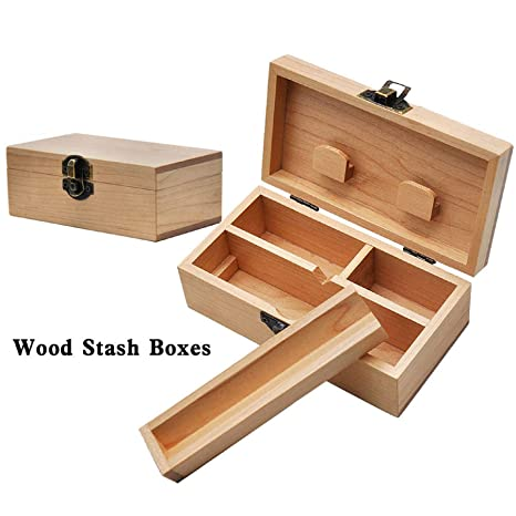 Amazon.com: m·kvfa - Cajas de madera de arce para ...