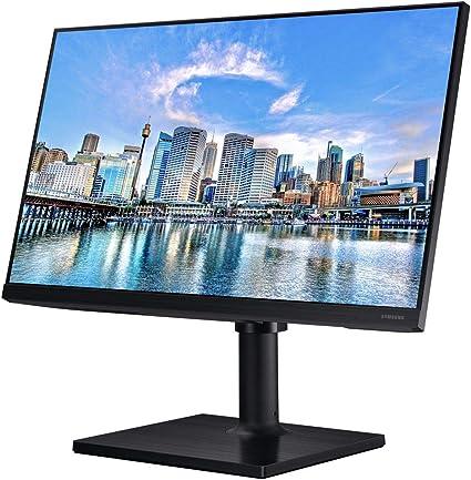 Samsung Lf24t452fquxen Monitor Schwarz Computer Zubehör