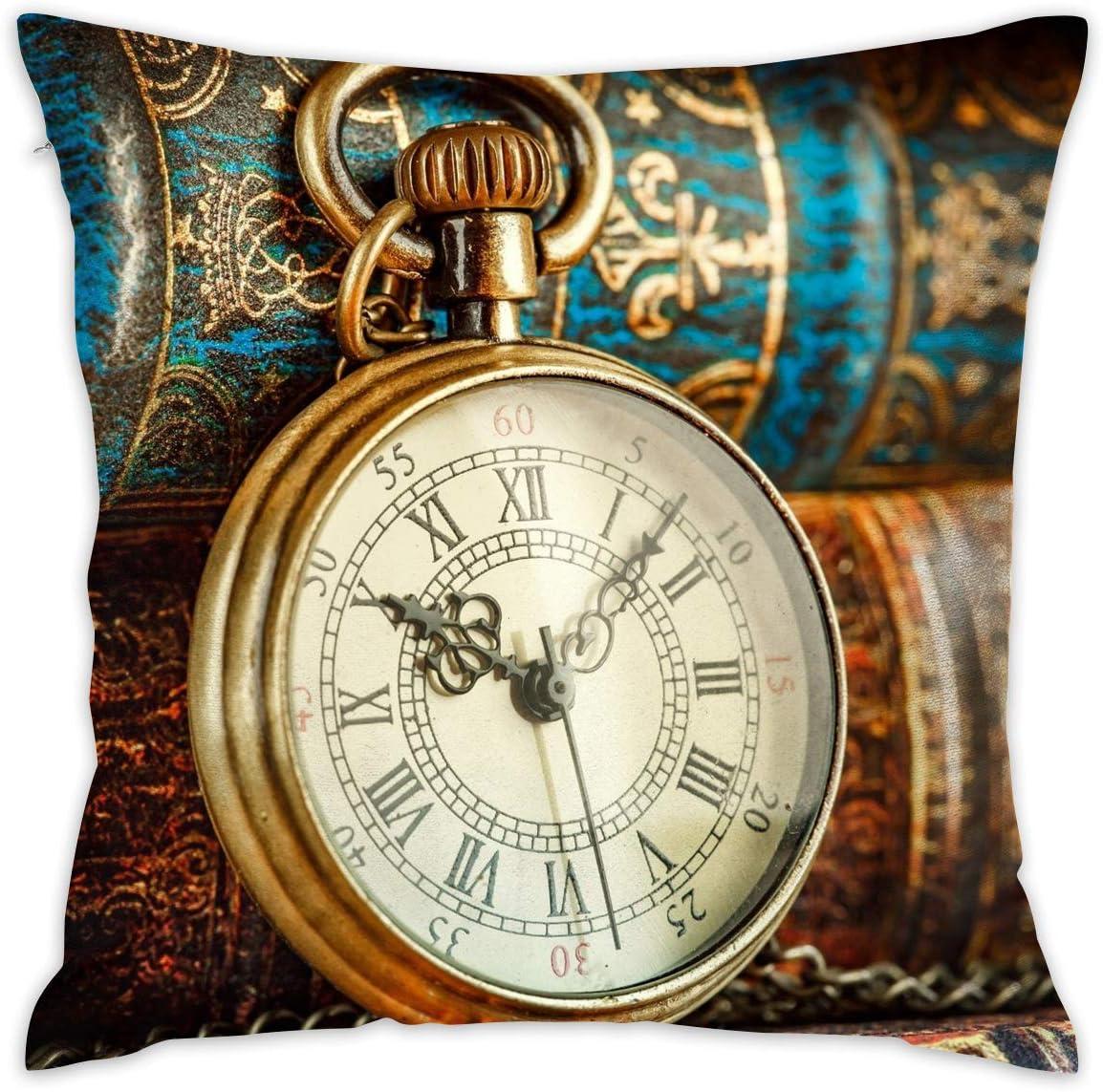 Amazon Com Karen Felix Throw Pillow Covers Old Wrist Watch Decorative Cushion Case For Sofa Bedroom Car 18 X 18 Inch 45 X 45 Cm Home Kitchen