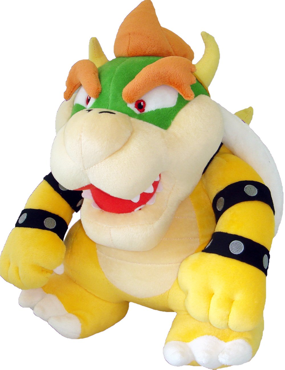Super Mario Plush Series Plush Doll 15'' Deluxe Bowser Plush by Sanei