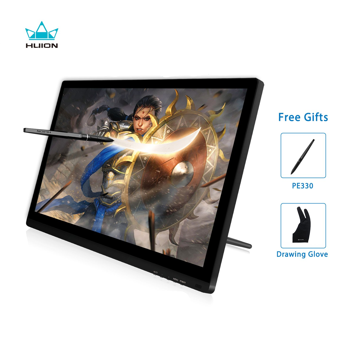HUION Actualizado Kamvas GT-191 V2 8192 Nivel Libre de baterí a Stylus Lá piz de Display Dibujo Monitor con Panel IPS 19.5 Pulgadas 1920x1080 266 PPS (GT-191 V2) Shenzhen Huion Animation Technology Ltd.