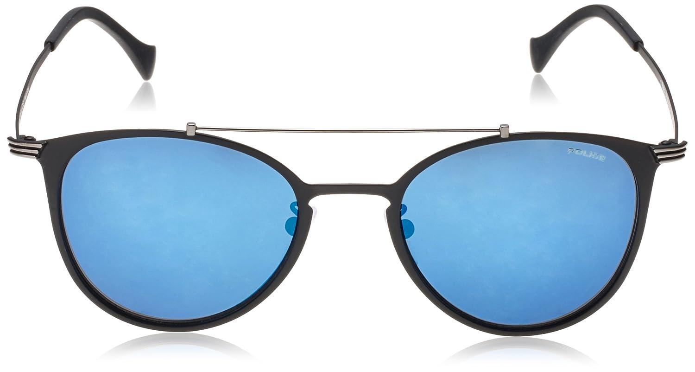 b7c90856fa8 Police SPL156-599B Mens Rival 9 SPL156-599B Matt Black Mirrored Blue  Sunglasses  Amazon.ca  Clothing   Accessories
