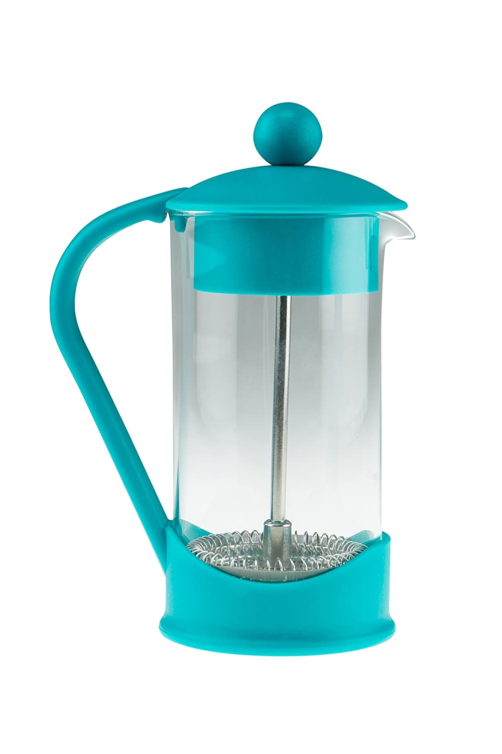 French Press Single Serving Coffee Maker by Clever Chef | Small French Press Perfect for Morning Coffee | Maximum Flavor Coffee Brewer With Superior Filtration | 2 Cup Capacity (12 fl oz/0.4 liter) SYNCHKG059677