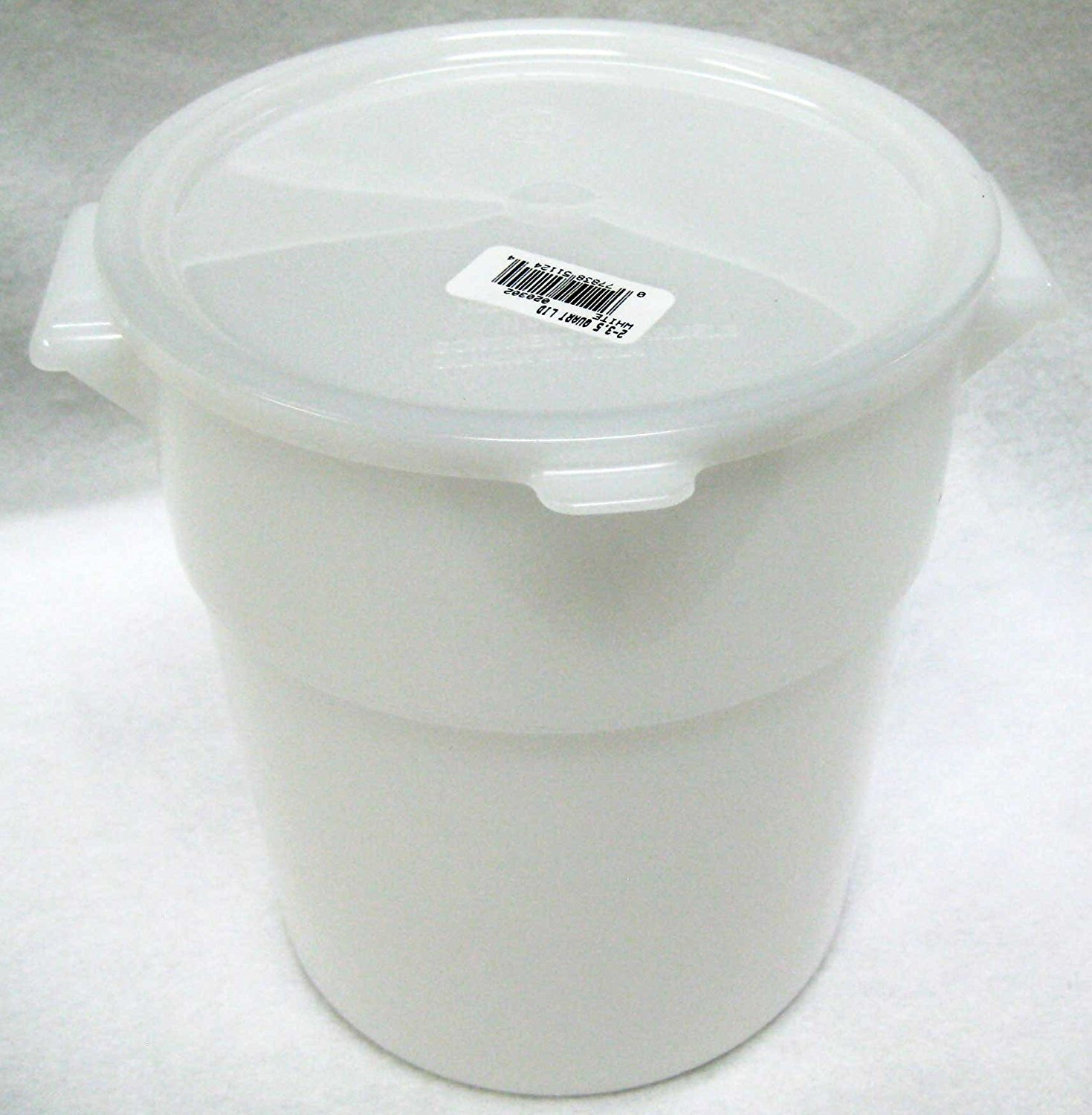 Plastic Dough Rising Bucket & Storage Container with Lid