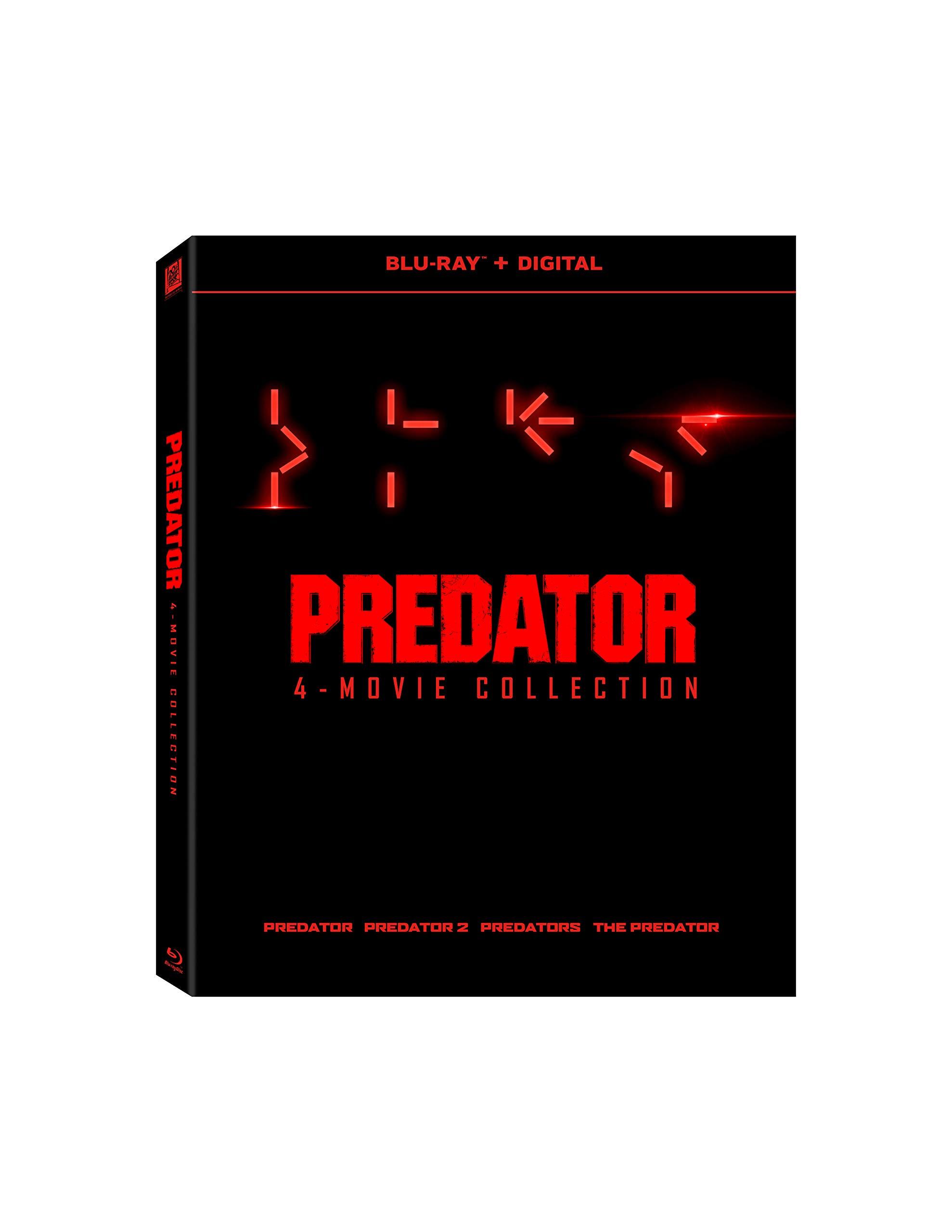 Blu-ray : Predator 1-4 (Digital Copy, Widescreen, Subtitled, Dolby)