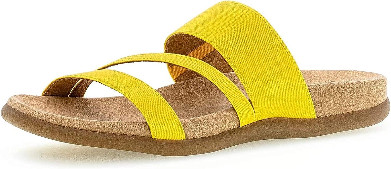 Gabor Shoes Gabor Jollys, Mules para Mujer Gelb Amarillo