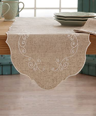 Lenox French Perle Table Runner