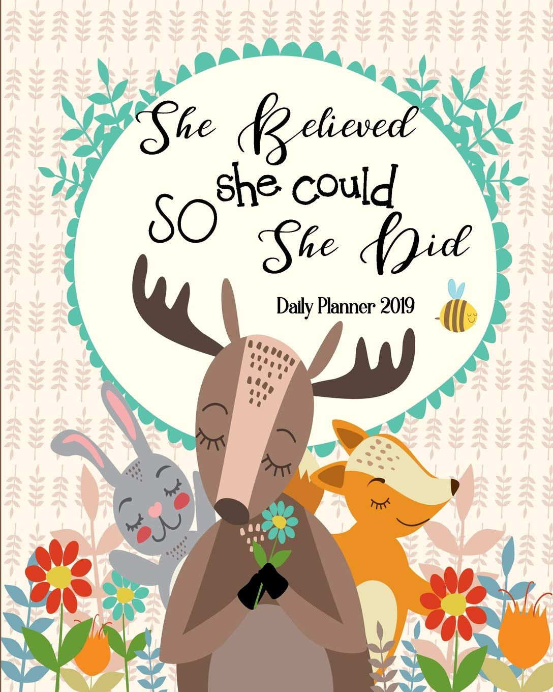 Amazon.com: She Believed She Could So She Did Daily Planner ...