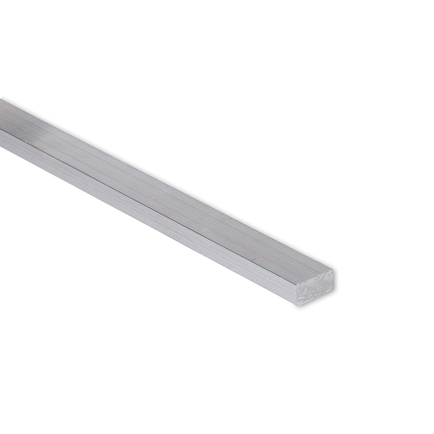 "6061 Plate 8/"" Length 0.375/"" T6511 Mill Stock 3//8/"" x 4/"" Aluminum Flat Bar"