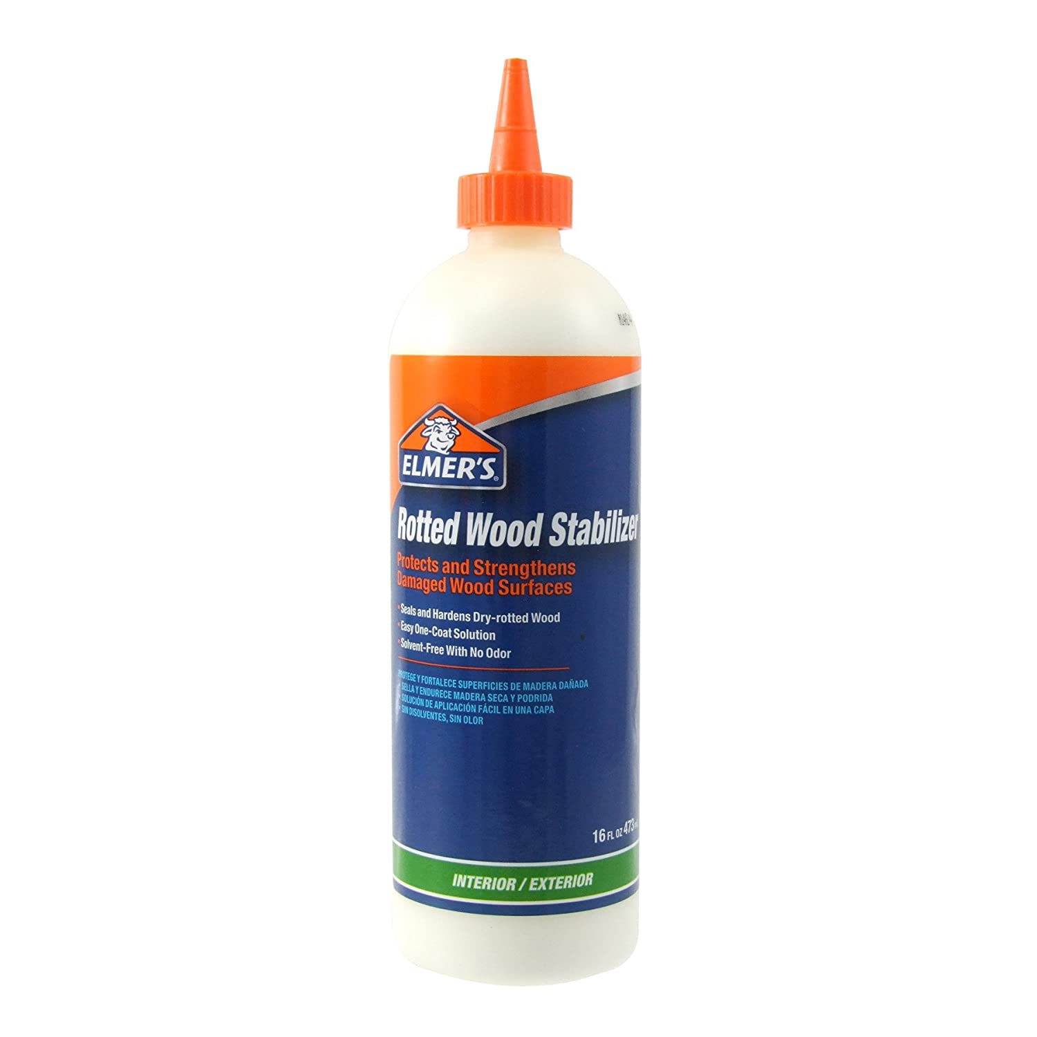 Elmer\'s E760Q Rotted Wood Stabilizer 16-Ounce - Wood Fill - Amazon.com