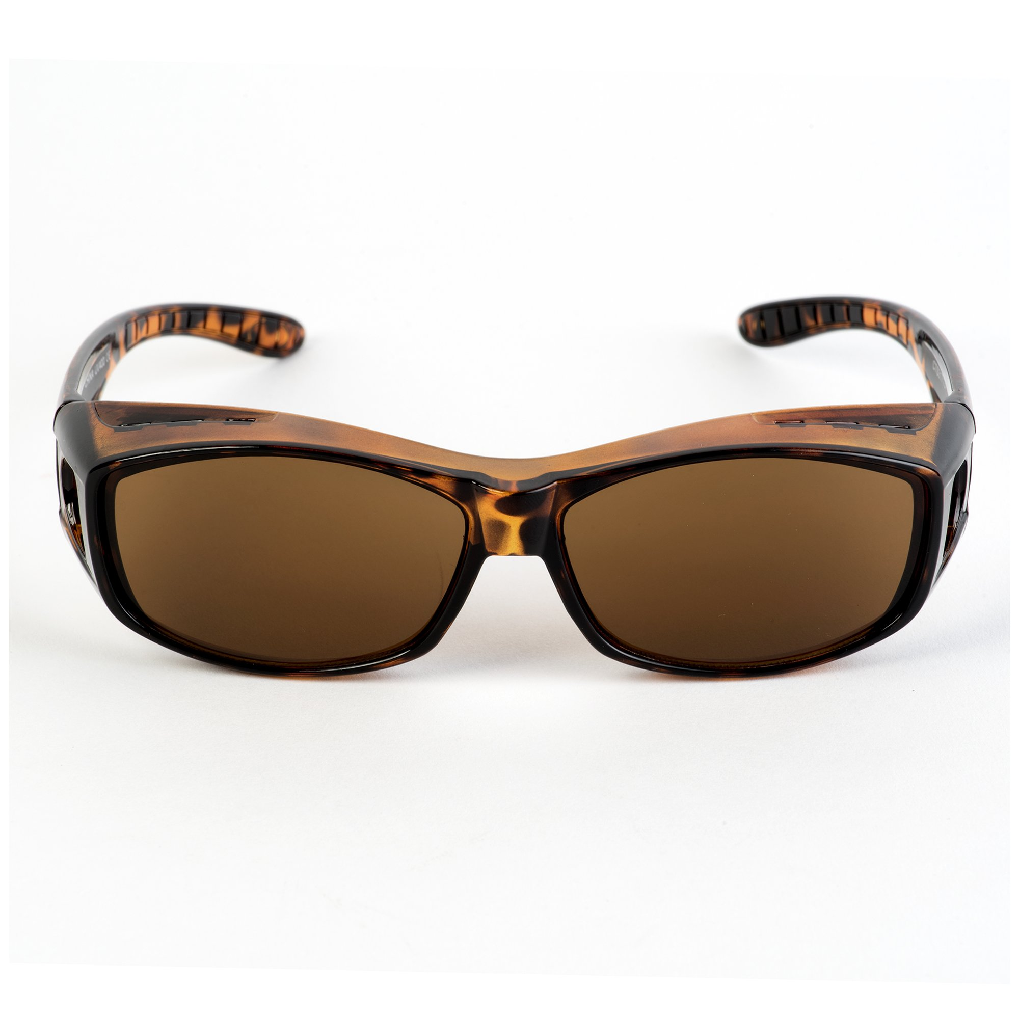 Over Glasses Sunglasses - Fitover Sunglasses with 100% UV Protection - By Pointed Designs (Leopard) by Pointed Designs (Image #4)