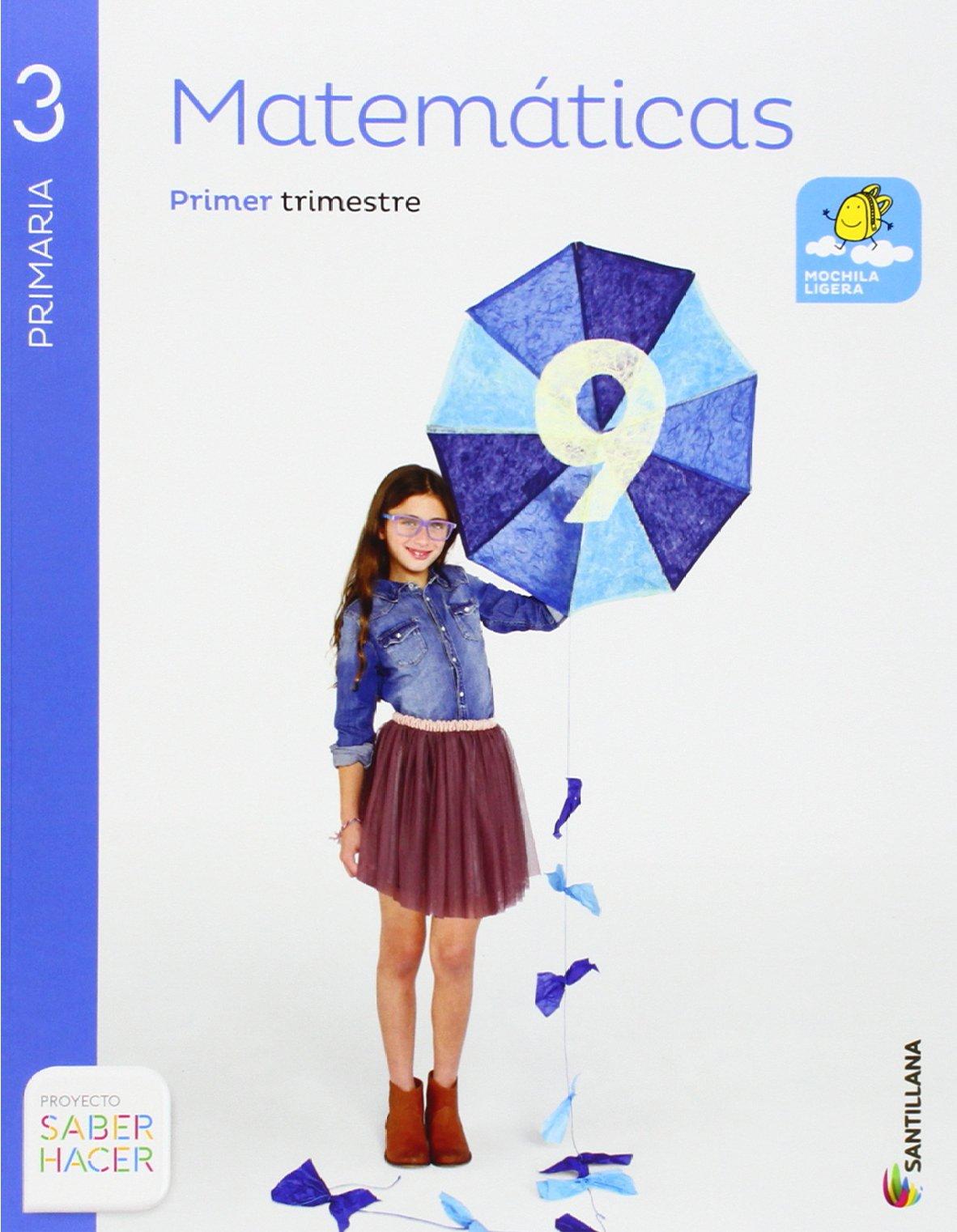 Matemáticas 3 Primaria, Saber Hacer, pack de 4 libros ...