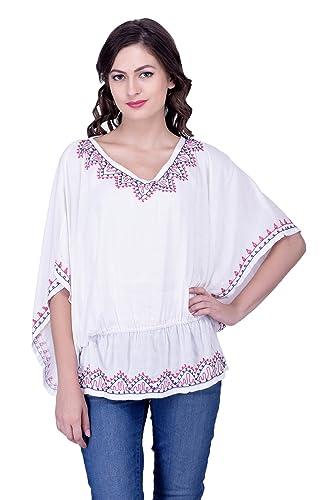 Sarjana Handicrafts - Camisas - Túnica - Básico - para mujer