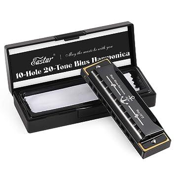 Blues Mundharmonika C-Dur mit Box
