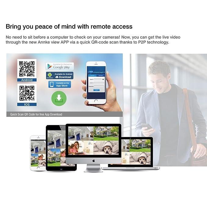 Amazon com : ANRAN 4CH 1080P HD NVR Wireless Security CCTV